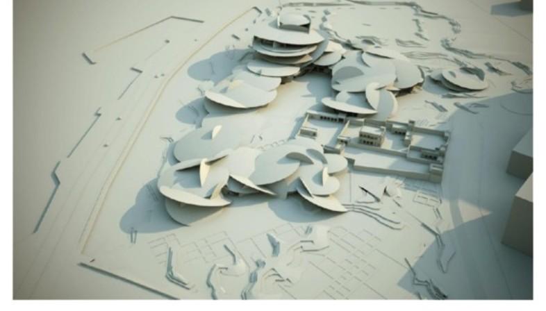 jean nouvel musee national du qatar floornature. Black Bedroom Furniture Sets. Home Design Ideas