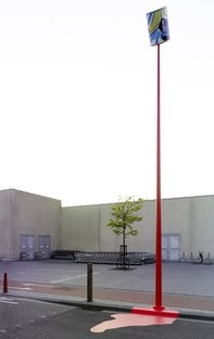 Guerrilla installation stunt - Sint Niklaas, Belgique