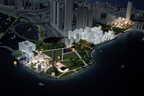 OMA, West Kowloon Cultural District - Honk-Kong