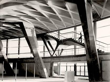 Pier Luigi Nervi, Palais des Sports (Rome - EUR). Avec l'aimable autorisation de la Fondation MAXXI