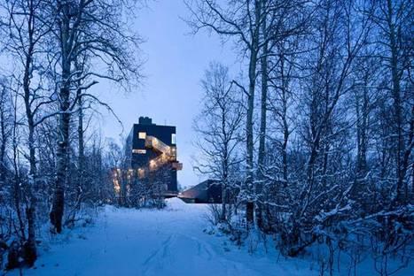 Steven Holl, Musée Knut Hamsun, Norvège @ Iwan Baan