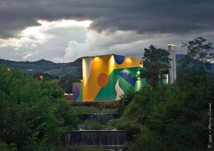 Ancien incinérateur : Ancien incinérateur – Valdagno - Vicence (Italie) 2010