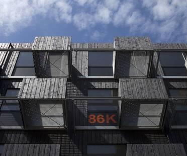 Fact Architects, Zuiderzeeweg, logements pour étudiants