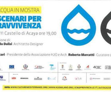 Lecce, Riccardo Dalisi pour L'ACQUA IN MOSTRA