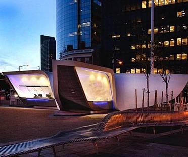 Le New Amsterdam Plein &, le Pavillon de l'agence UNStudio, vient d'être inauguré