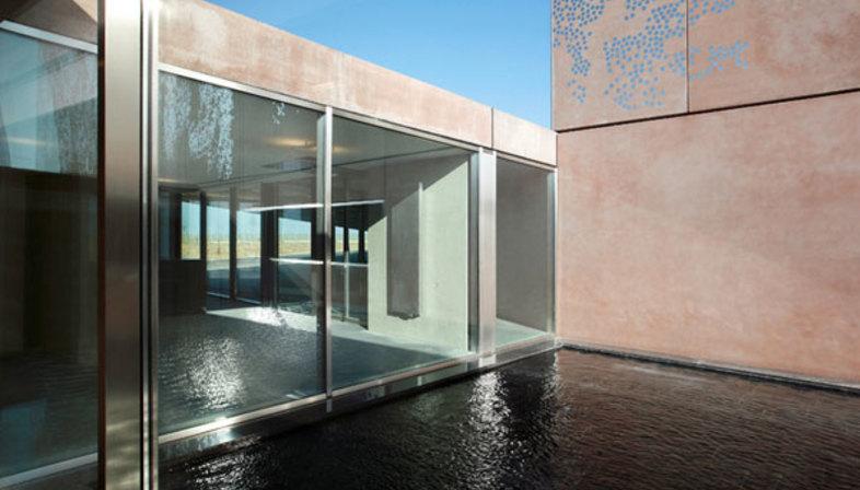 Lan architecture edf archive centre floornature for Home lan architecture
