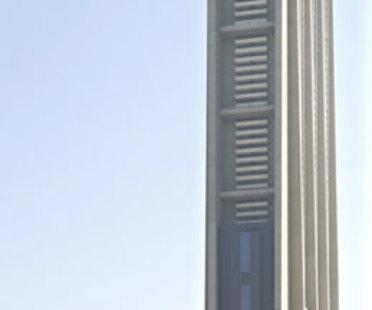 Dubaï, gratte-ciel The Index de Foster + Partners