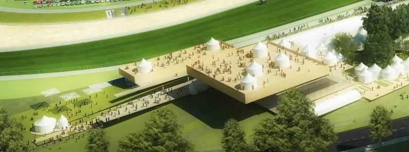 Perrault, nouvel hippodrome de Longchamp