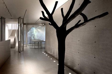 TADAO ANDO, boutique et salle d'exposition DUVETICA à MILAN