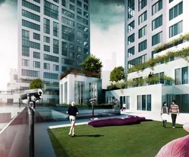 MVRDV, The Cloud, gratte-ciel résidentiels