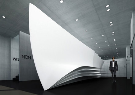 Zaha Hadid, magasin phare Neil Barrett