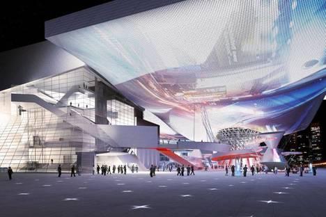 COOP HIMMELB(L)AU, Cinéma Center Busan