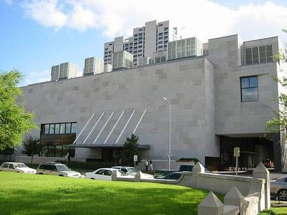 Audrey Jones Beck Building of The Museum of Fine Arts, Houston @Judson Dunn