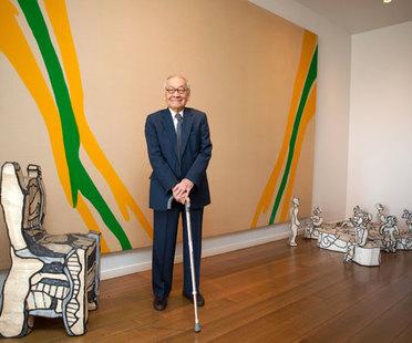 Le lauréat du prix est l'architecte Ieoh Ming Pei