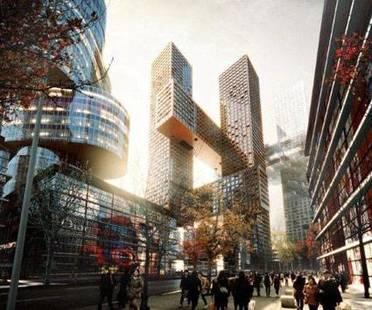 BIG, Cross # Towers, Séoul