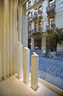 SOMA Architects, projet de design intérieur pour bijouterie joaillerie