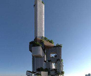MVRDV, gratte-ciel Peruri 88, Jakarta