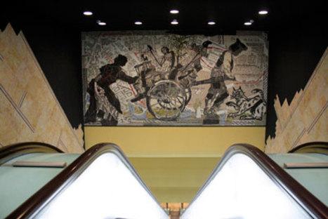Oscar Tusquets Blanca, Stations de l'art Toledo, Naples