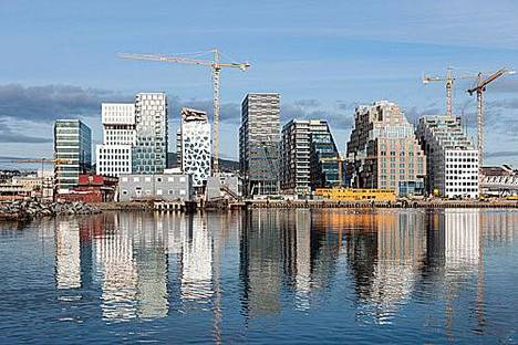 MVRDV, Nouveau siège DNB, Oslo