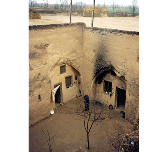Cave Dwellings, Luoyang, Henan, China ph.Terence Prout