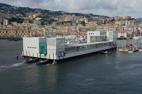 Renzo Piano le nouveau Pavillon des Cétacés dans lâ'Aquarium de Gênes