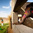 RMA Architects, Hathigaon logements pour éléphants et gardiens