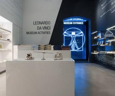 Giraldi Associati Architetti, Musée Léonard de Vinci, Florence