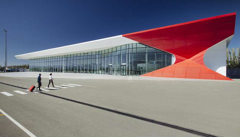 UNStudio, Kutaisi International Airport, Géorgie