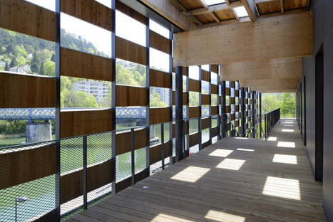 Kengo kuma cit des arts et de la culture besan on france floornature - Besancon cite des arts ...