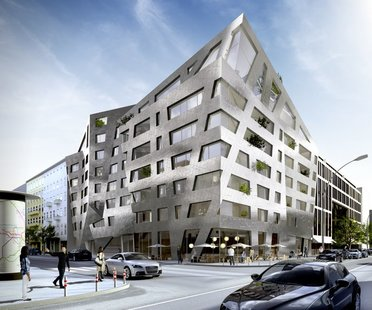 Libeskind, immeuble d'habitation, Chausseestrasse - Berlin