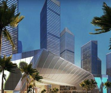 gmp, nouveau projet urbain à Shenzhen