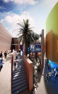 Foster, projet pour le Pavillon UAE Milan Expo2015