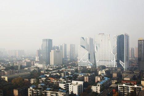 Steven Holl Architects, Sliced Porosity Block(c) Shu He