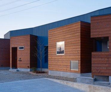 Fujiwarramuro Architects, Bâtiment résidentiel à Sayo