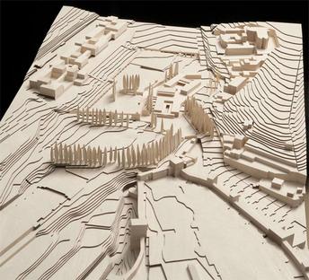 (c) Alvaro Siza Vieira + Juan Domingo Santos, Wood model by Álvaro Negrello