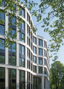 gmp, nouveau bâtiment de bureaux à Hambourg