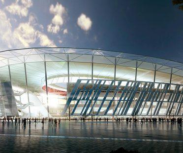 Dan Meis, nouveau stade de l'A.S. Roma