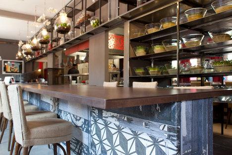 Active Ceramic pour le Restaurant Èvviva, Grand Hôtel de Riccione