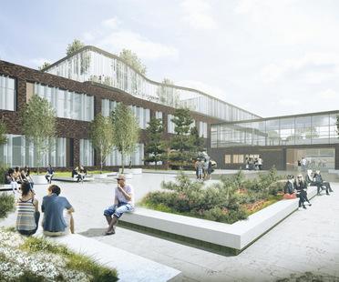 CF Møller remporte le concours pour l'agrandissement du Vendsyssel Hospital