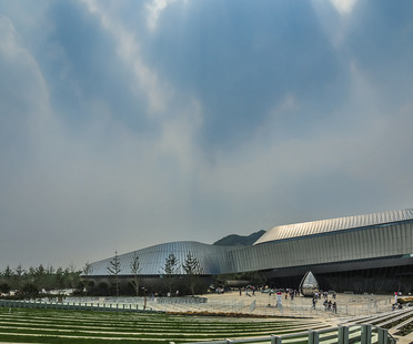 UNStudio, Qingdao, Exposition Internationale d'Horticulture, Pavillon Thématique, Qingdao
