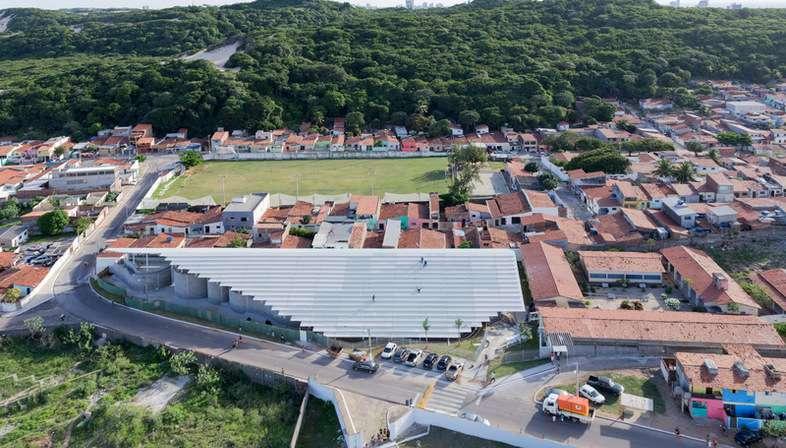 Herzog & de Meuron, Arena do Morro - Natal, Brésil