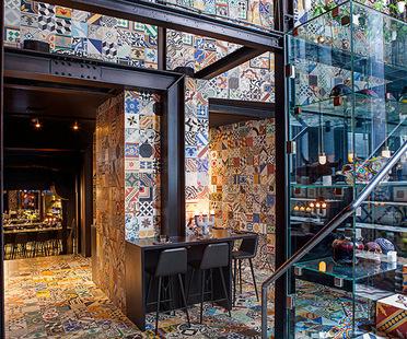 Lars Larsen (KILO) & Jakob Lange (BIG), Interior design, Restaurant Llama, Copenhague