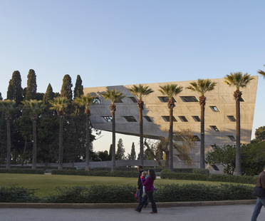 Zaha Hadid Architects, Issam Fares Institute, Beyrouth