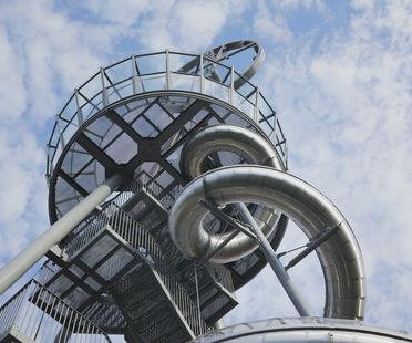 Carsten Höller, Vitra Slide Tower, un nouvel édifice pour le Vitra Campus