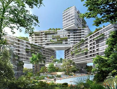 The Interlace d'OMA remporte la première édition d'Urban Habitat Award CTBUH