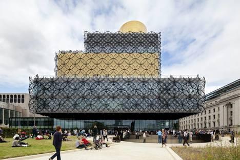 Mecanoo Architecten Library Of Birmingham, ph.Christian Richters