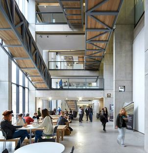 Feilden Clegg Bradley Studios Manchester School of Art ph.Hufton and Crow