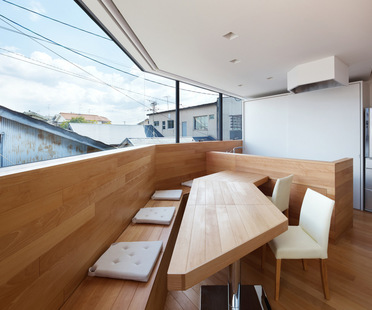 Fujiwarramuro Architects, Bâtiment Résidentiel à Matsubara, Osaka