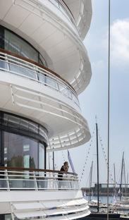 Foster+Partners, Le nouveau bâtiment du Yacht Club de Monaco a été inauguré