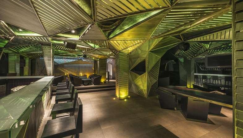 Stunning decoration interieur restaurant contemporary for Decoration interieur restaurant
